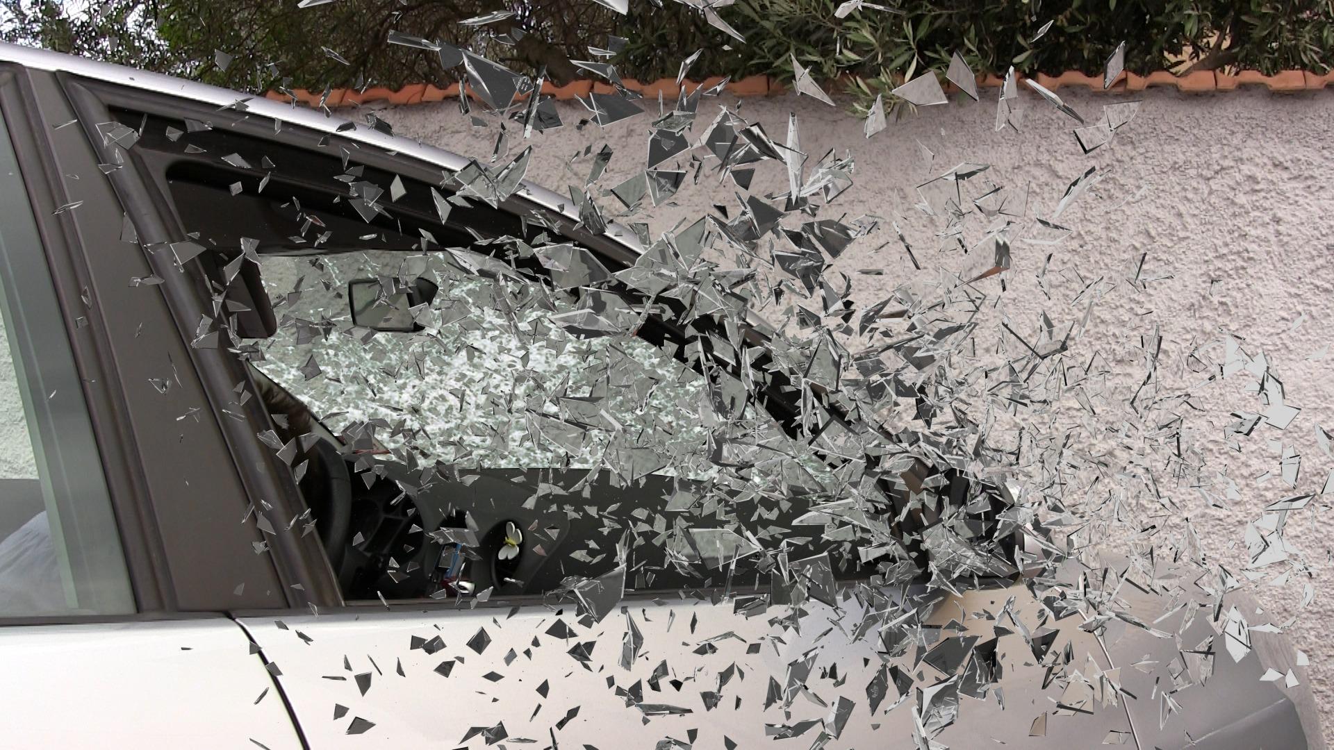 Car Windows Shattering