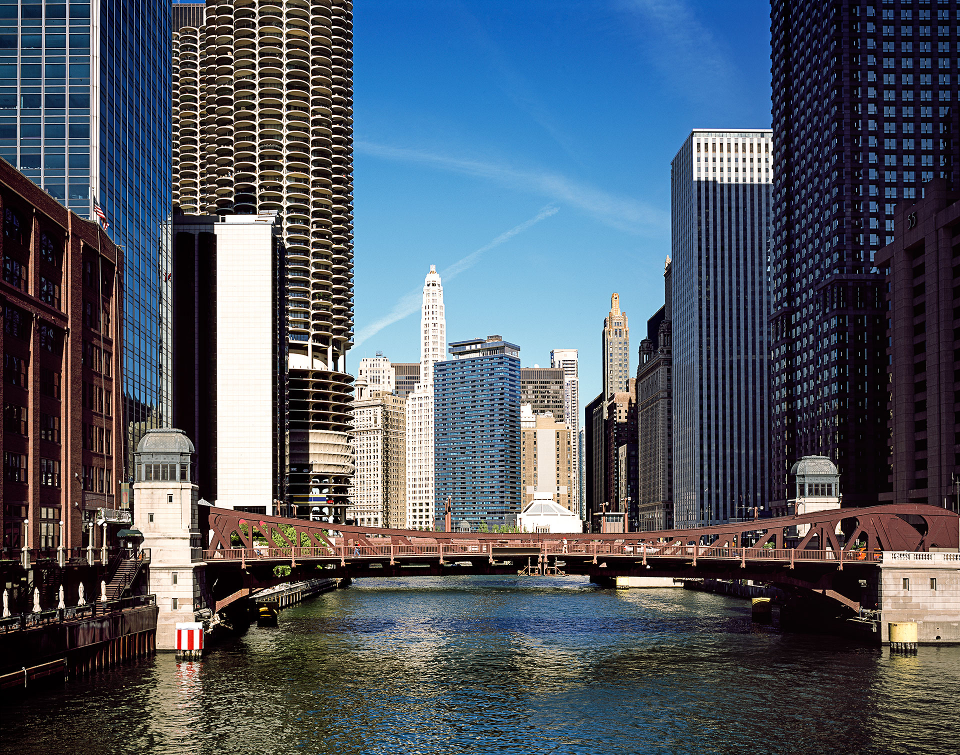 Chicago Skyline and River