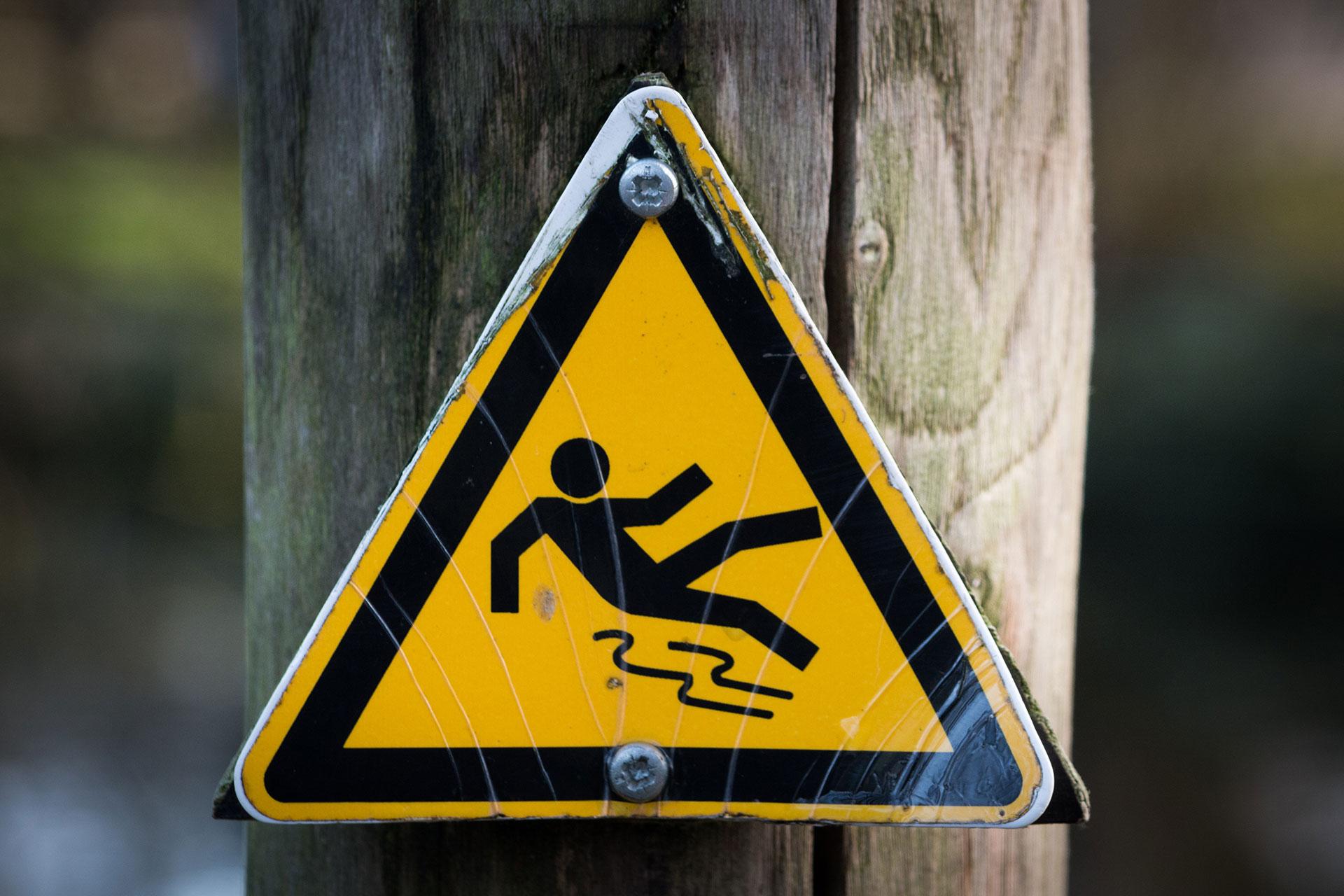 Caution Wet Sign